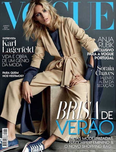 Vogue Portugal: Anja Rubik