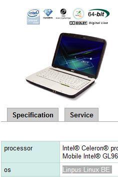 Acer podría estar pensando en instalar Linux por defecto
