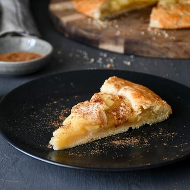 Galette de manzana: la receta de tarta de manzana más fácil del mundo (con vídeo incluido)