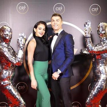 Cristiano Ronaldo celebra una gala en su honor y Georgina se convierte en protagonista