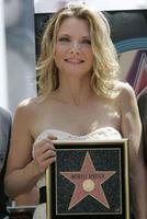 La pifia con Pfeiffer: a Michelle le escribieron mal el apellido en su estrella