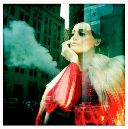 smoke & mirrors: bergdorf goodman window, por stephanie