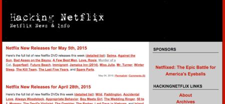 Hacking Netflix