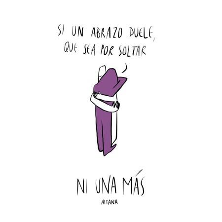 """La canción feminista de Aitana: """"Que de un abrazo todo el mundo salga ileso"""""""