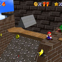 Super Mario 64: cómo conseguir la estrella Blast Away the Wall de Whomp's Fortress