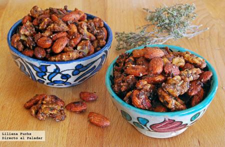 Receta de frutos secos especiados al horno: un picoteo irresistible