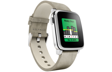 Pebble Time Health