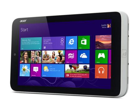 Acer le pone precio oficial a su tablet de ocho pulgadas con Windows 8
