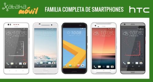 Así queda el catálogo de smartphones HTC tras la llegada del nuevo HTC 10