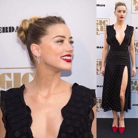 Amber Heard look negro