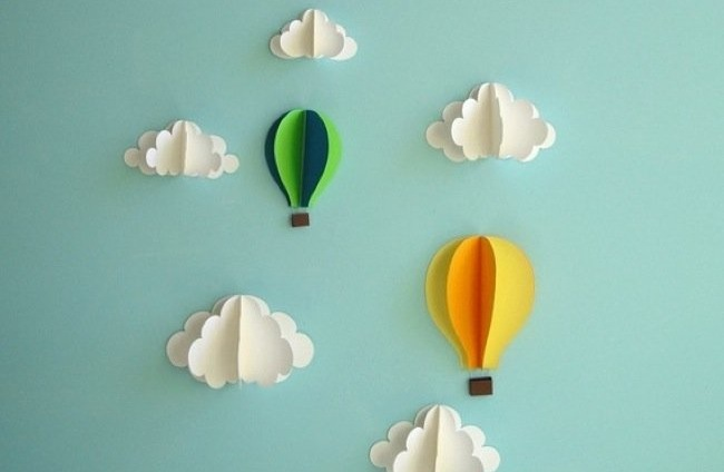 Hot Air Balloon Wall Art