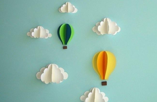 Manualidades para decorar la habitaci n del beb - Como decorar la habitacion de un bebe ...