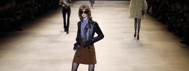 El rock&roll más burgués sube a la pasarela de la mano de Celine y nos inspira para llevar chupa de cuero con todo