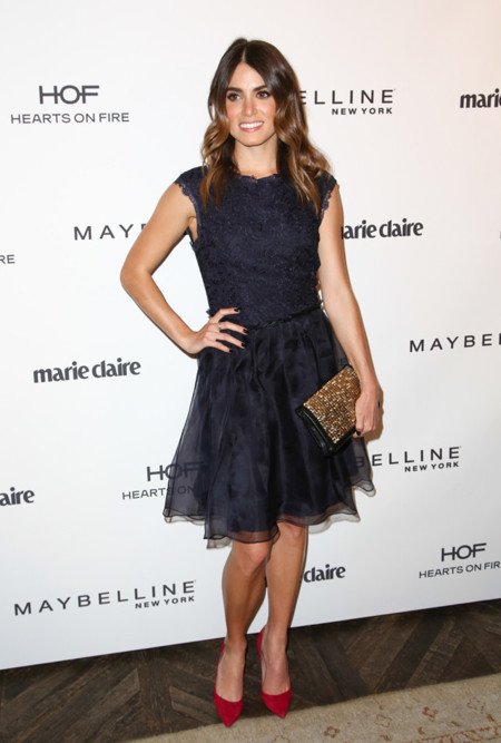 Fiesta fresh faces Marie Claire 2014 Nikki Reed Ted Baker