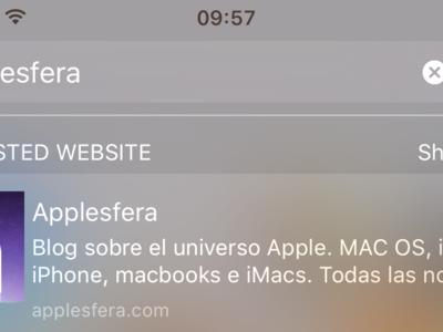 Spotlight en iOS 10: exprime todo lo que puedes hacer con él