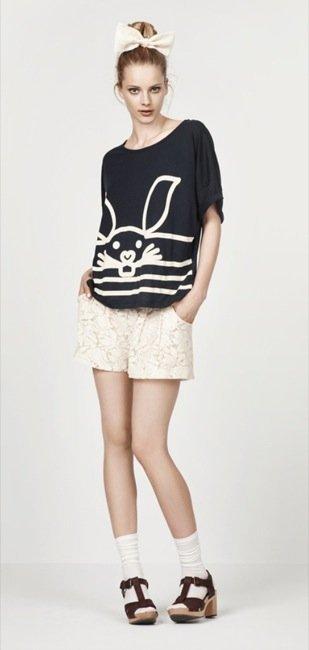 Zara, nuevo lookbook para el Verano 2010: camiseta