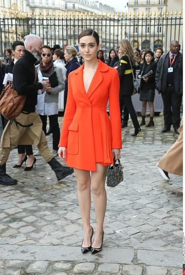 El front row de Paris sigue dejándonos los looks más glamurosos del momento