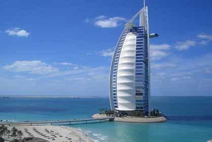 Siete empleados por huésped en el Burj Al Arab de Dubai