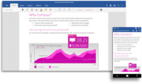 Microsoft lanza las versiones previas de Word, PowerPoint y Excel para Windows 10