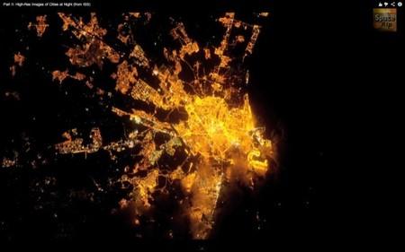 Las ciudades de más de un millón de habitantes vistas desde el espacio