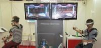 'Sci-Shoota', la máquina que mezcla realidad virtual y control por movimientos de Mocap Games