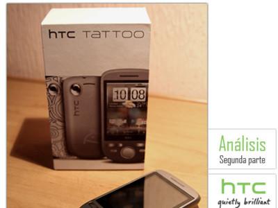 HTC Tattoo, análisis (segunda parte)