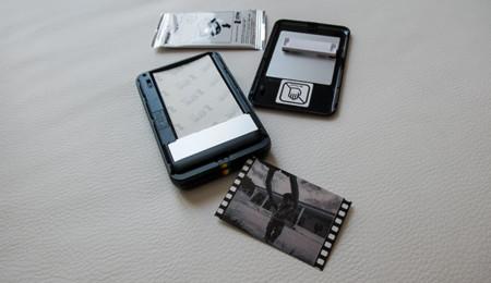 Carga de papel de la Polaroid ZIP