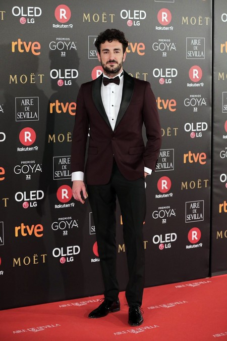 Mik Espabre Da Catedra De Elegancia Con Su Look Para Los Premios Goya 2018 2 Mik Espabre Da Catedra De Elegancia Con Su Look Para Los Premios Goya 2018 2