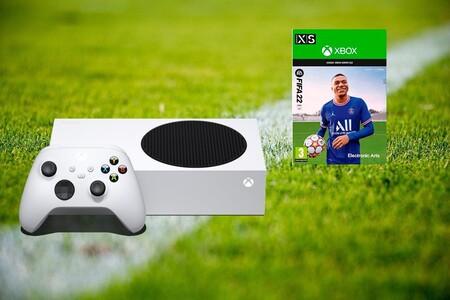 Si compras la Xbox Series S a 299 euros en Amazon, te llevas el FIFA 22 gratis por tiempo limitado