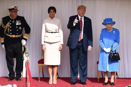 Melania Trump E Isabel Ii 1