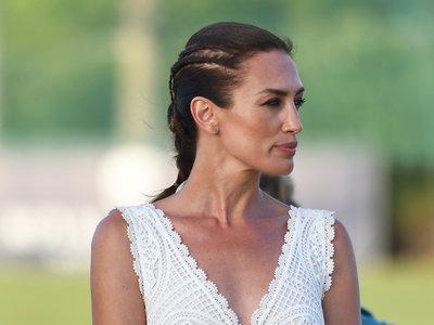 Nieves Álvarez nos da una lección de estilo en el polo