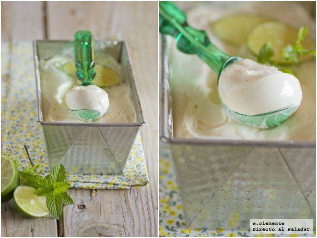 Helado de lemon curd