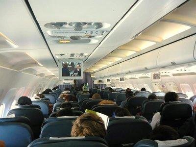 Los pasajeros problemáticos, cada vez más comunes en los aviones