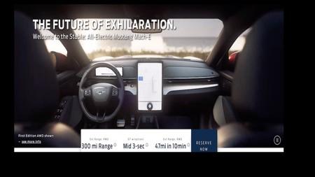 Ford Mach E Interior