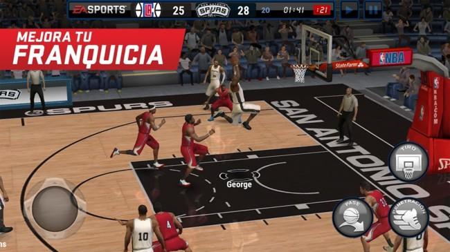 NBA Live Mobile, a saga de basquete EA vem para o Android com o jogo download gratuito