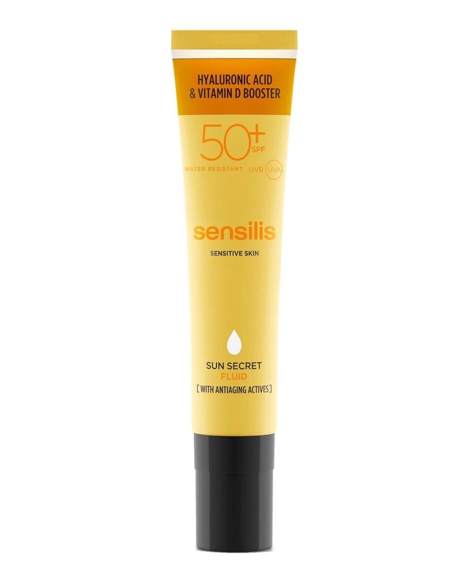 Protector Solar Sun Secret Ha Fluid SPF50 50 ml Sensilis