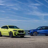 Los BMW X3 M Competition y BMW X4 M Competition mantienen los mismos 510 CV pero bajan peso y avivan su carácter