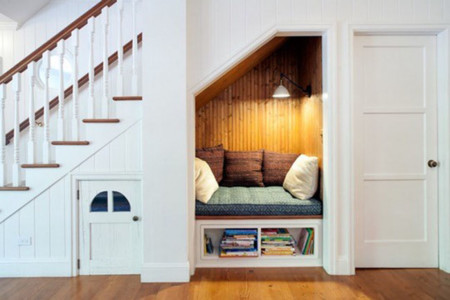 Reading Nook Under The Stairs By Jwt Associates 540x360