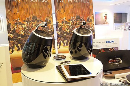 Altavoces Fidelio SoundSphere con AirPlay®