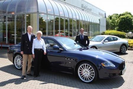 Gran Bretaña llega a los 1000 Maserati Quattroporte vendidos
