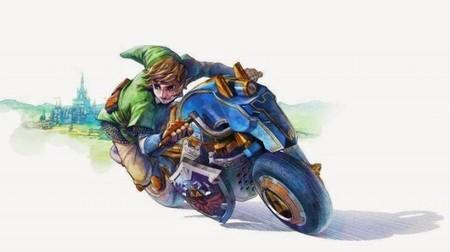 Zelda Wii U Motorcycle E14135307957521
