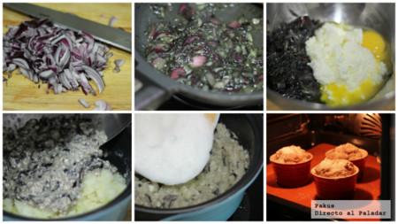 Soffle De Requeson Y Patatas