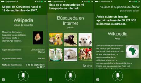 Realizando consultas en internet a través de Siri en iOS 7
