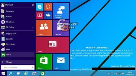 Capturas filtradas de una build previa muestran más detalles de la próxima versión de Windows