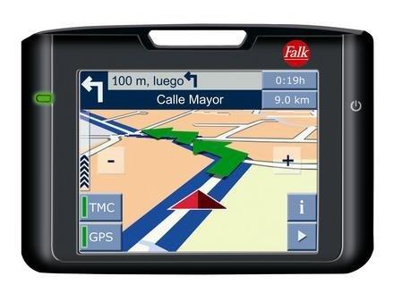 FALK N, GPS con guías de ciudades incluídas