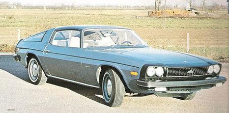 El 1976 Chevrolet Camaro de Pietro Frua, un diseño americano a la italiana