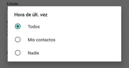 Whatsapp Contactos Restringidos