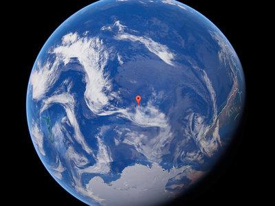 El punto más inaccesible de la Tierra: el lugar donde los humanos más cercanos son los astronautas