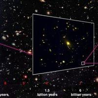 Se descubre una galaxia muy distante y es... normalísima
