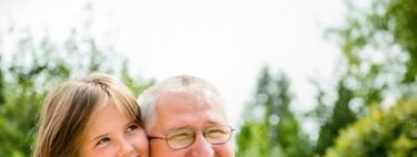 Los niños que crecen cerca de sus abuelos son más felices